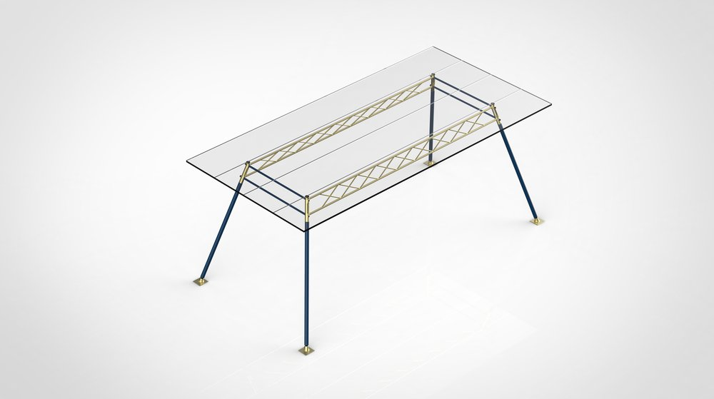 Scaffolding Table