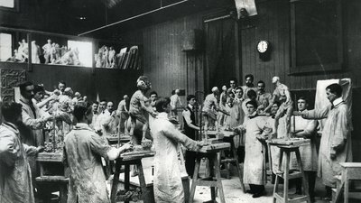 Sculpture Department 1905