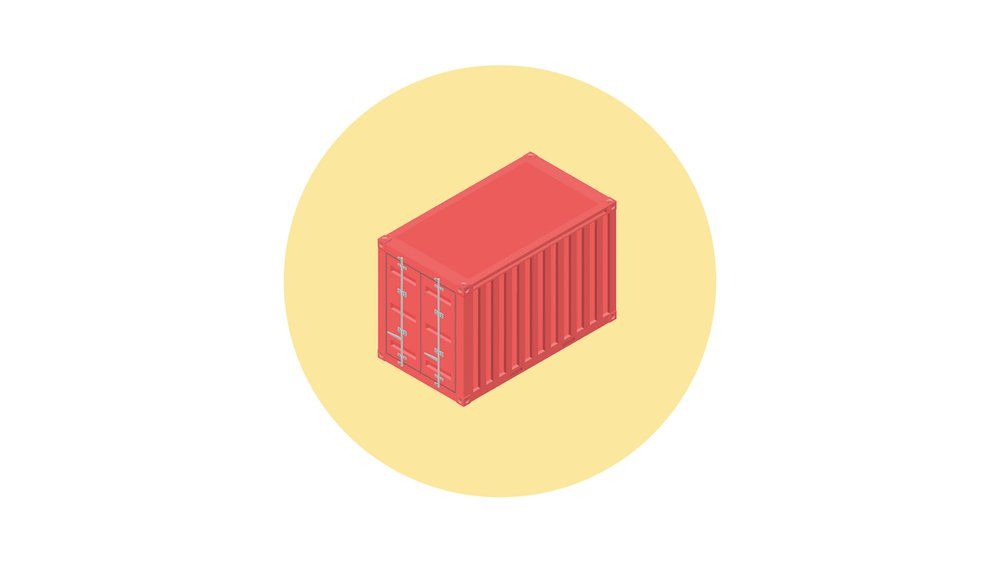 Shipment container as building block