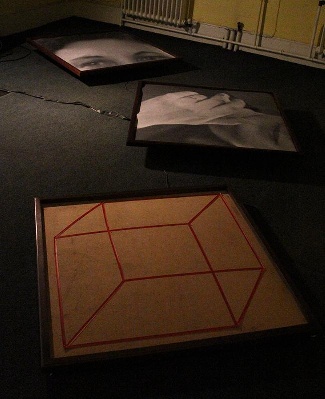 Signs of Life (shown as part of exhibition Compulsion St. Cements Gallery, Mile End London)