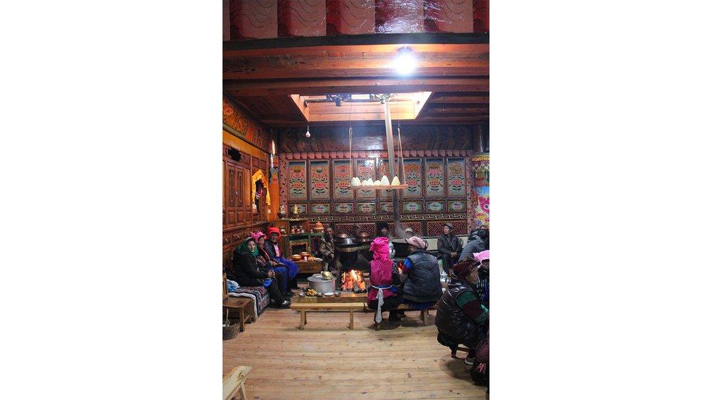 Tibetan ethnic minorities. Shangri-la