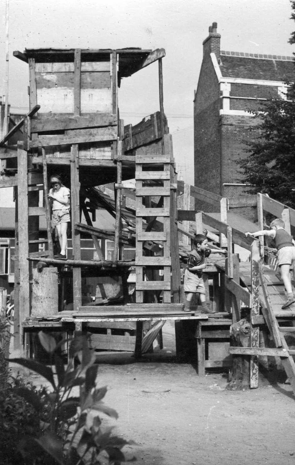 Notting Hill Adventure Playground, London, 1963