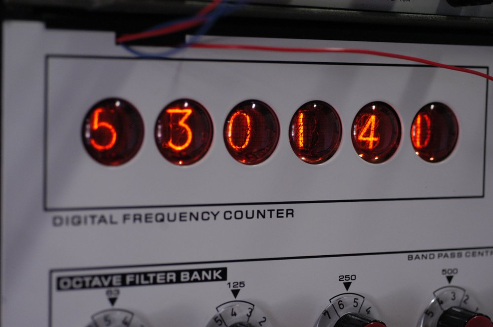 Detail from EMS Synthi 100, restored by Tom Carpenter