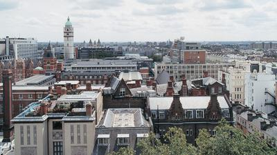 View over Imperial College