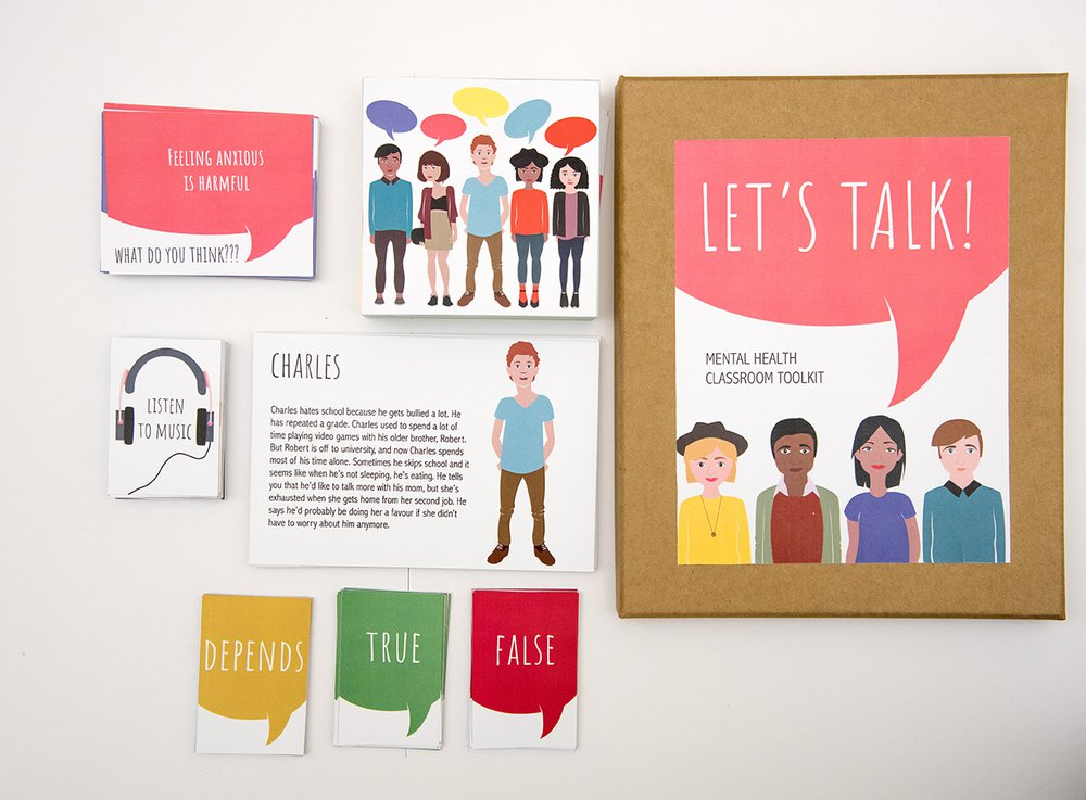 Let's talk mental health classroom toolkit