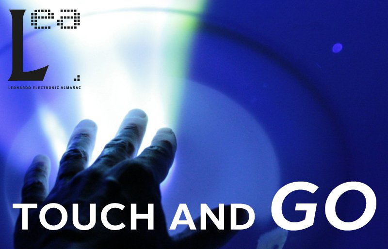Cover of 'Leonardo Electronic Almanac: Touch and Go', MIT Press