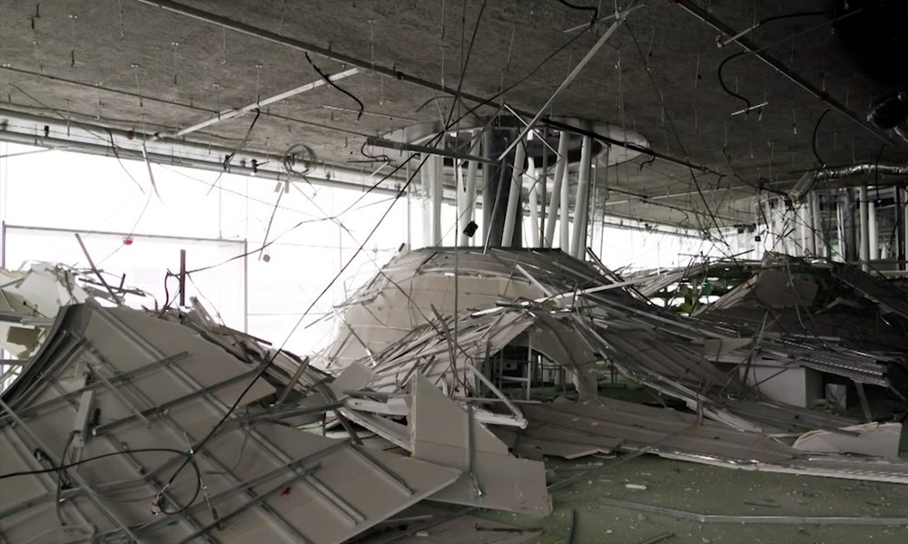 Toyo Ito's Sendai Mediatheque after the 2011 earthquake
