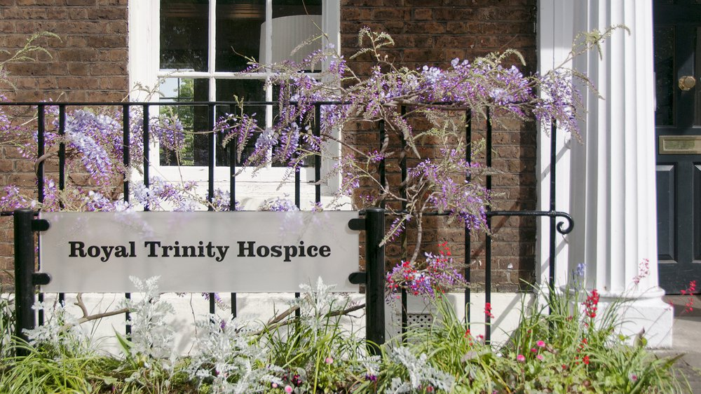 Our project partner, Royal Trinity Hospice.
