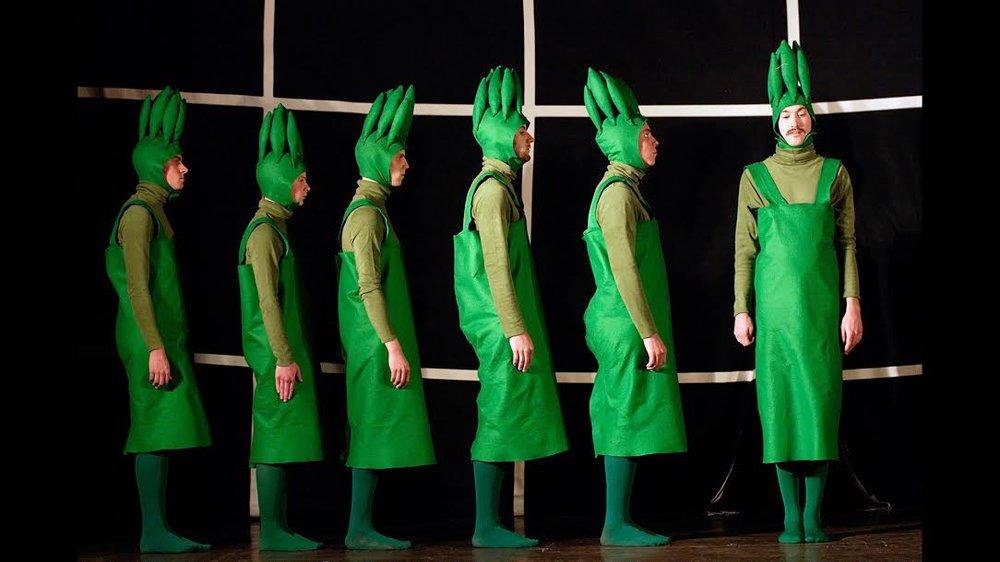 Asparagus: A Horticultural Ballet