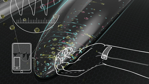 Electronic Skin Nanopatches for Continuous Blood Pressure Monitoring