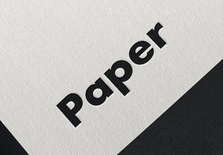 PAPER (Materials), MRes RCA