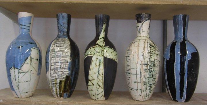 Construction Vases