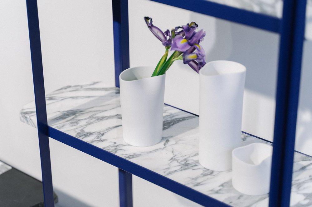 GoodWaste - Vases & Shelving Unit