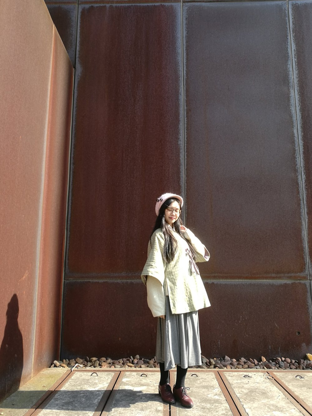 An everyday practical Ming-style hanfu outfit