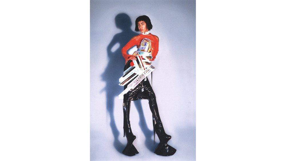 Lightning Belt , Bronski Motor Top , Perfect Exceder Skirt , Colin Horgan X Kira Goodey Footwear , Colin Horgan X Francois Rocci Zipper Pullers