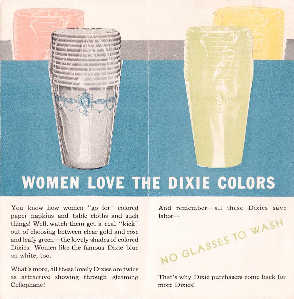 'Women love dixies'