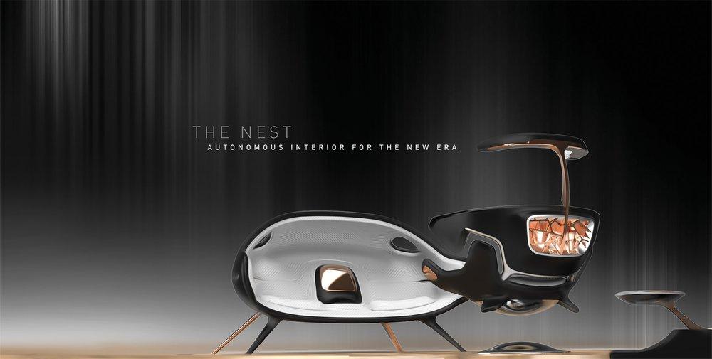 The nest: autonomous interior for the new era
