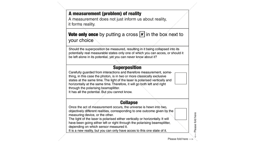 A Measurement (problem) of Reality 4
